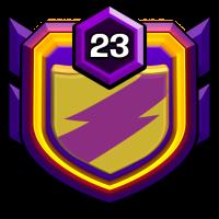 Supersonic badge