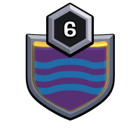 Stacked badge