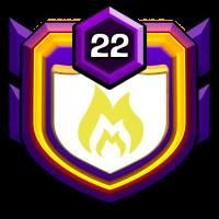 望月之城 badge