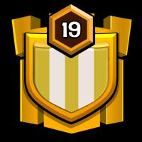 MINI WAR badge