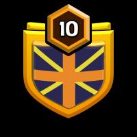 Clan of KINGS☠️ badge
