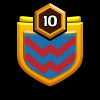 TGI Lakeside 3 badge