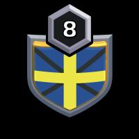 !SWEDEN! 3 badge