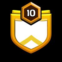 永不言败之LPR休闲战队 badge