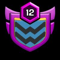 warrior's team badge