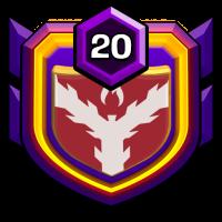 敵會跪 badge