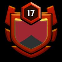 Red Rhinos badge
