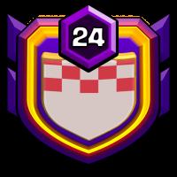 未知樂園-不打部落戰88分部 badge