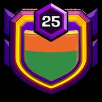 KNIGHTS DEN badge