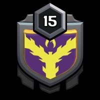 جنگجویان میانا badge