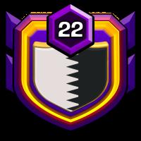HEAVEN'S DOOR badge