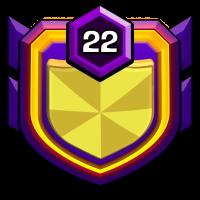 baby warrior badge