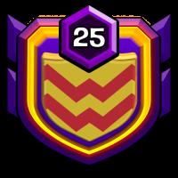 黑马过林 badge
