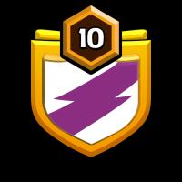 los amigos badge