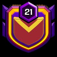 Super Hero ' 联盟 badge