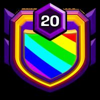 NO.100 badge