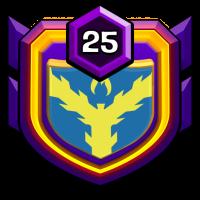 蓝竹-無悔 badge