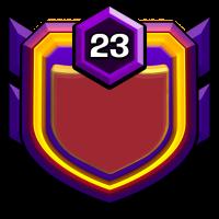 自由女神之不战部七营 badge