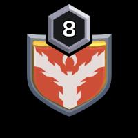 Bovine badge