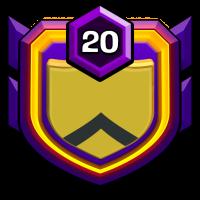 亚洲领域 badge
