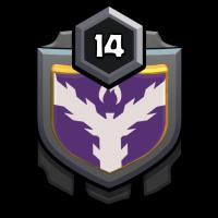 les tranquilles badge