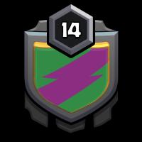 kaogazarazara badge
