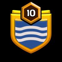 划船不靠桨 badge