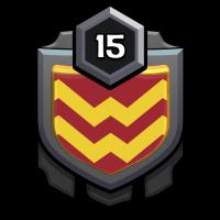the finishers badge