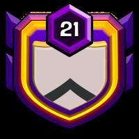 UK-GAZI WARRIOR badge