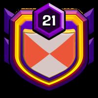 小小部落 狼族 badge