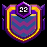 Ü30 Kriegs-Clan badge