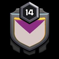 Smoking Barrel badge