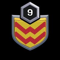 LOS MILITARES badge
