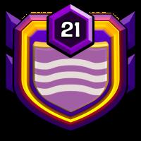 비폭력클랜 badge