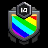 勇往直前部落 badge