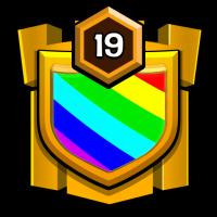 义薄云天 badge