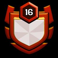 C.T CLASH ARMY badge