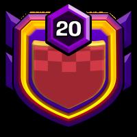 自由女神之不战部二十四营 badge