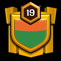 INDIANS badge