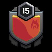 K.P. friends badge