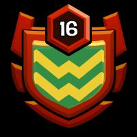 不败 badge