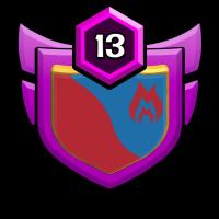 休闲会馆 badge