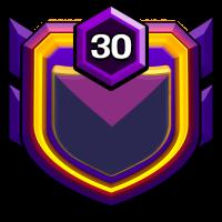 日月当空 badge