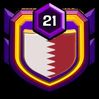 HUSKERS badge