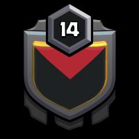 村莊滴強強部落 badge