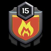 王の軍勢 badge