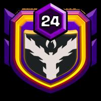 화랑 9기 badge