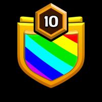 نسور العالم badge