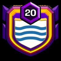 Blue Whale ID badge