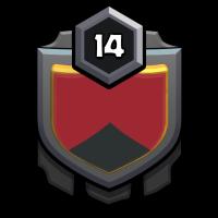 IRAN number one badge
